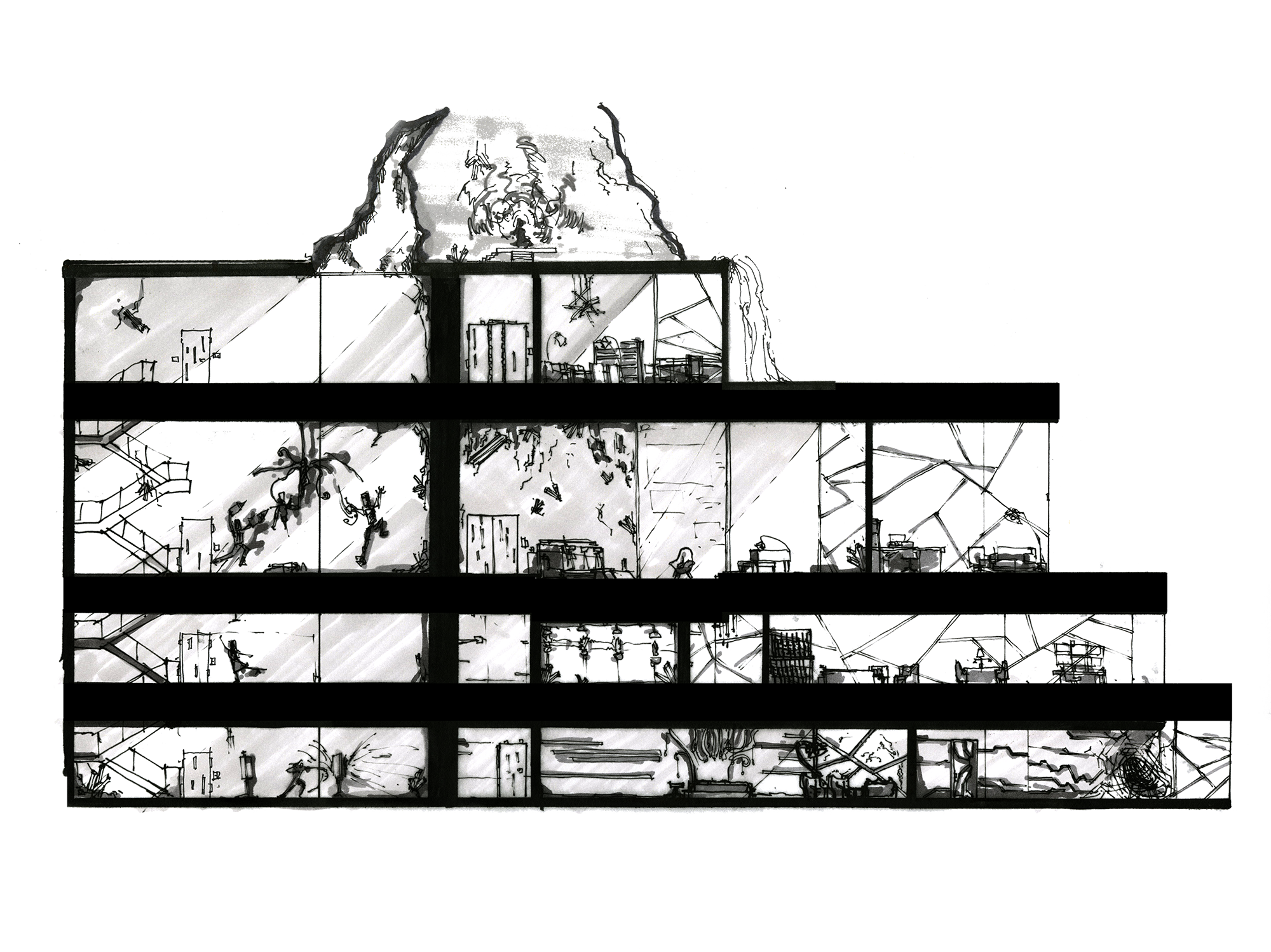 Supervillain charrette sarah wallstedt design - Charrette dessin ...